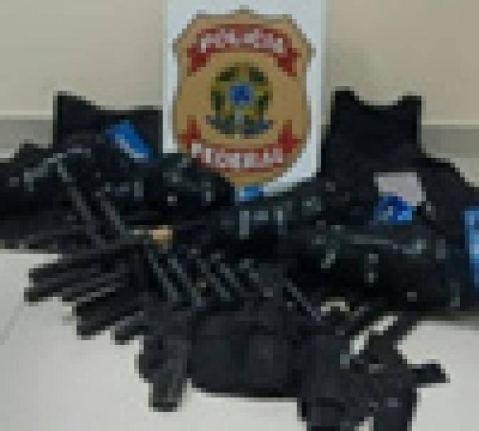 Alvo de operação da PF, coronel é preso por porte ilegal de arma de fogo