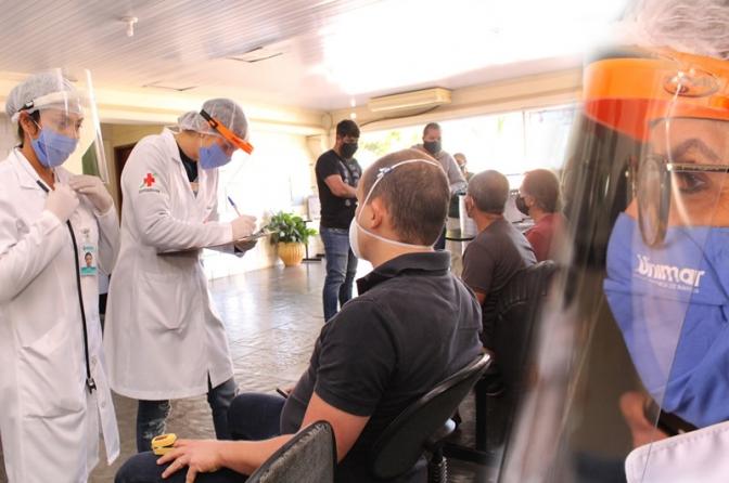 Unimar realiza pesquisa inédita de testagem de Covid-19 com Policiais Federais