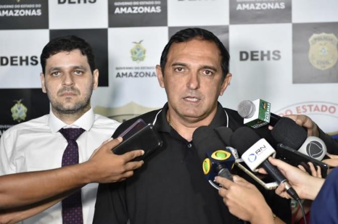 Paulo Martins, titular da DEHS, vai a Fortaleza e prende chefão do tráfico em Manaus