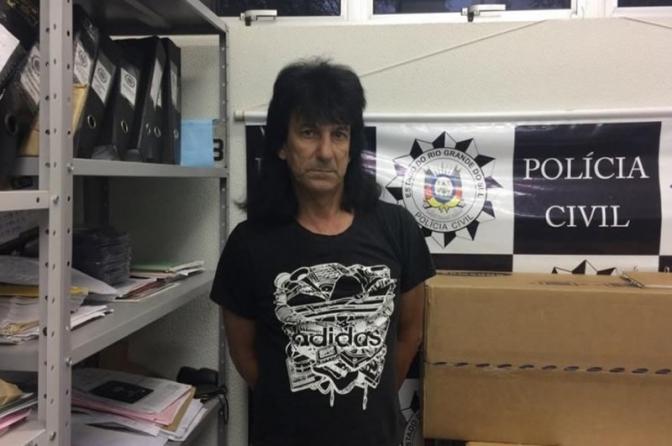 "Polícia Civil do RS prende ""cover de Roberto Carlos"" por tráfico de drogas"