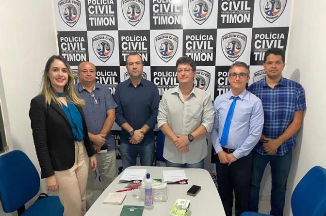 Corregedora da Segurança Pública visita cidades do interior do Maranhão
