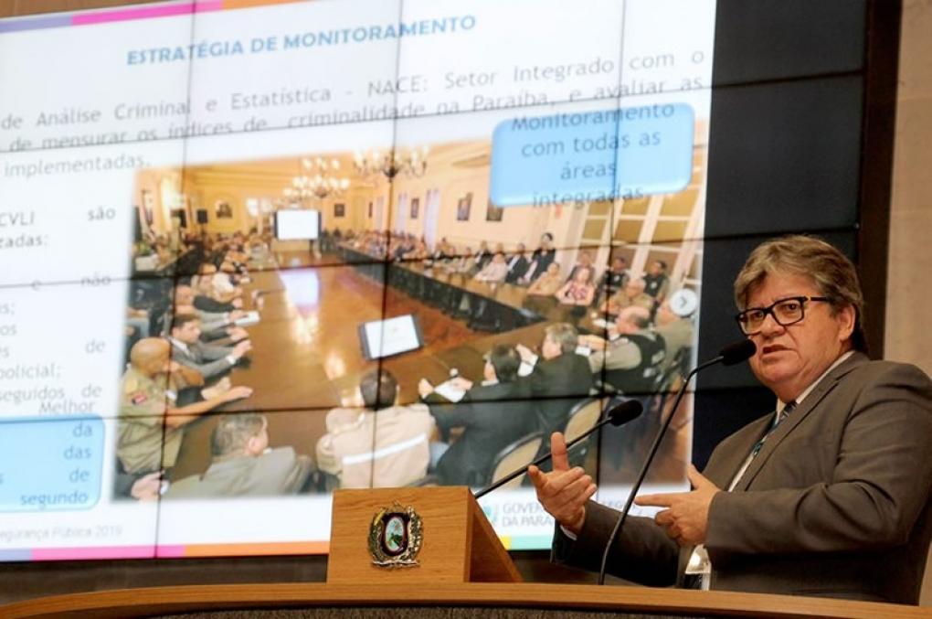 Governador Azevêdo ministra palestra sobre Segurança Pública da PB em evento da Unale