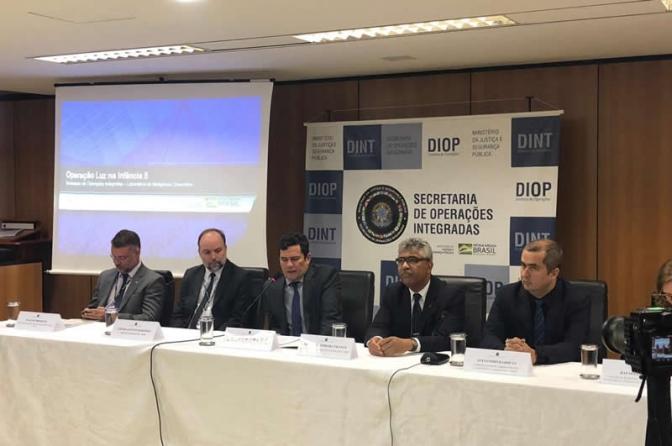 'Operação Internacional Luz da Infância 5' prende acusados de exploração sexual de menores na internet