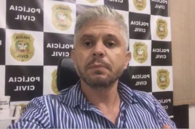 """""""Minha vontade é ficar em Blumenau"""", diz delegado da DIC após destituição"""