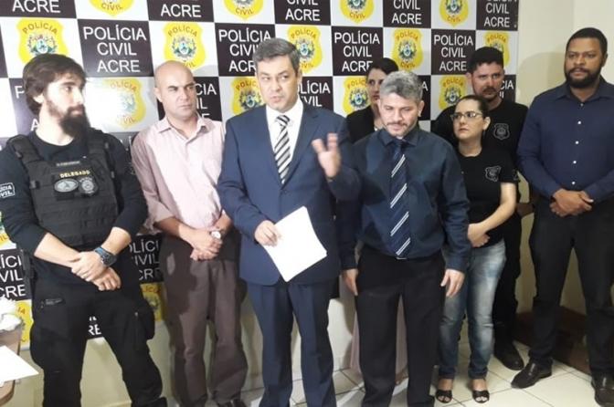 Presidente da Adepol é nomeado diretor da Polícia Civil do Acre