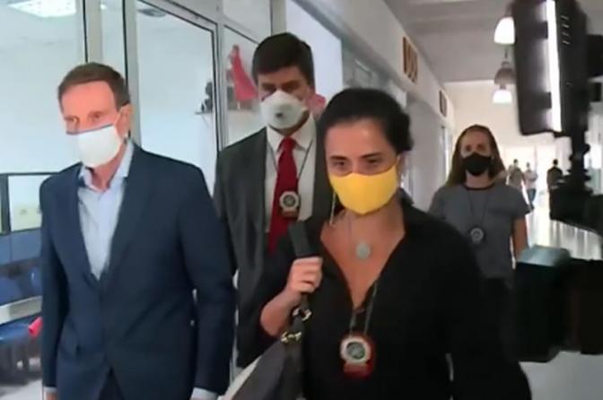 Prefeito Marcelo Crivella é preso em operação da Polícia Civil e do MP