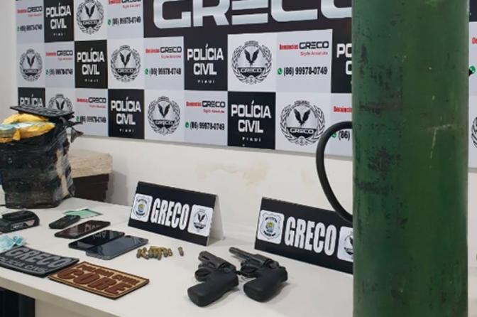 Polícia Civil do PI prende assaltantes do Banco do Brasil