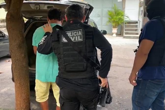 Polícia Civil do Ceará deflagra operação e captura foragidos da Justiça