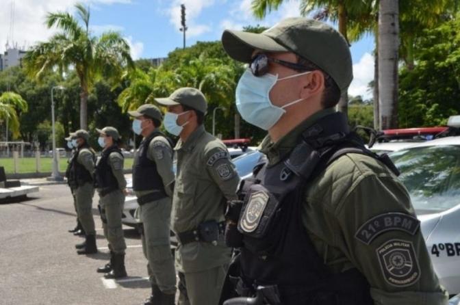 Policiais são mais infectados pelo coronavírus do que os profissionais de Saúde