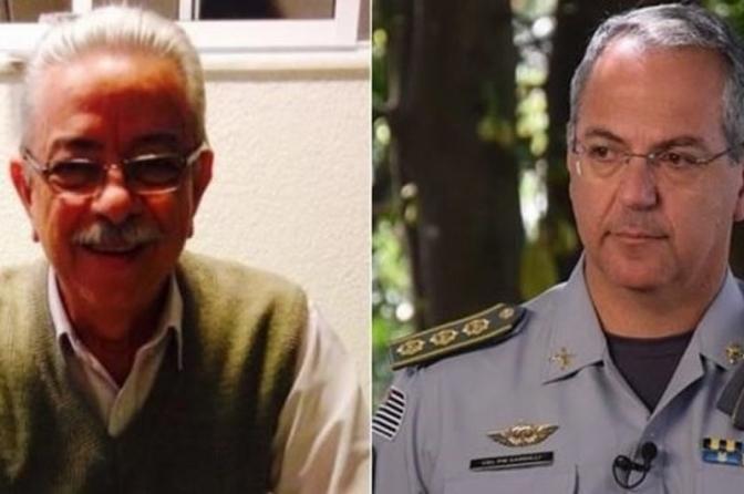 Delegado aposentado de 80 anos é espancado por coronel e está na UTI