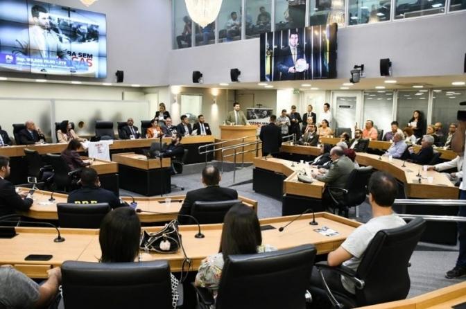 Segurança da Paraíba recebe três votos de aplausos da ALPB por redução da criminalidade e investimentos em tecnologia