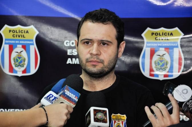 Delegado Pablo Geovanni e equipe prendem em Manaus trio por latrocínio tentado