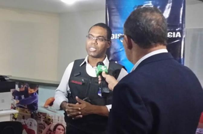 """Nêgo imoral do rabo preso"", diz coronel da PM contra um delegado de Alagoas"