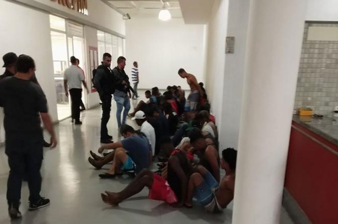 Cerca de 40 são detidos e conduzidos à Cidade da Polícia após morte de delegado