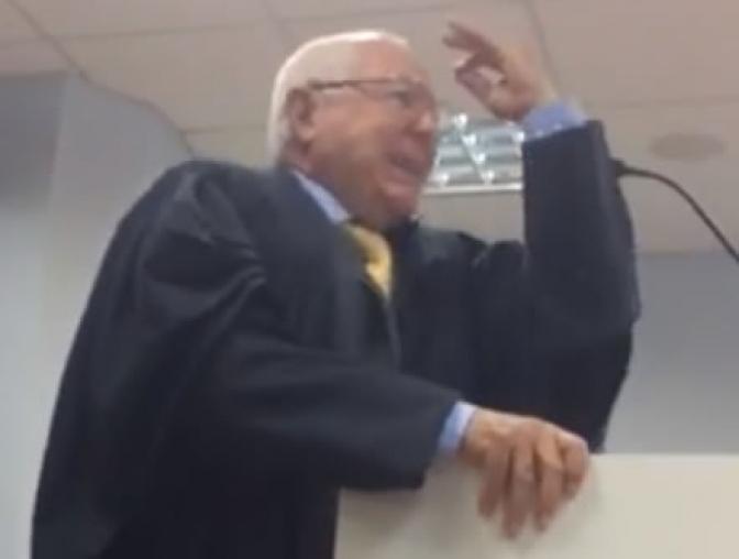 Durante audiência, advogado acusa desembargador de pedir propina! Veja o vídeo!