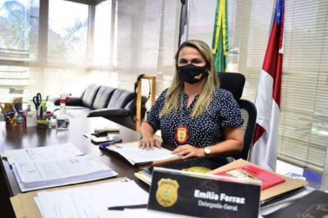 'Delegada-geral da pandemia', Emília Ferraz faz balanço de um ano à frente da Polícia Civil do AM