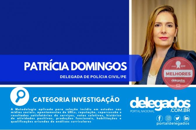 Patrícia Domingos ingressa na Lista dos Melhores Delegados de Polícia do Brasil! Censo 2019