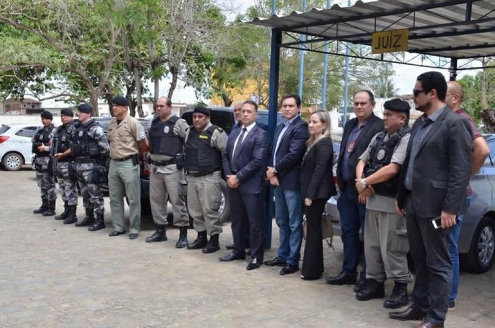 Secretário Jean Nunes e representantes do TJPB visitam Fórum de Alagoa Grande