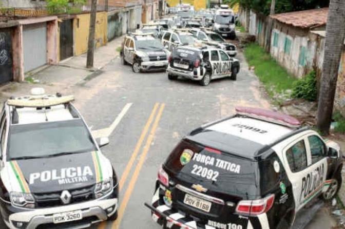"""Pode haver """"apagão"""" da polícia brasileira"""