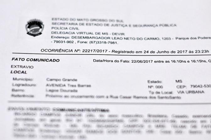 Boletim de ocorrência de extravio custará R$ 14 ao cidadão