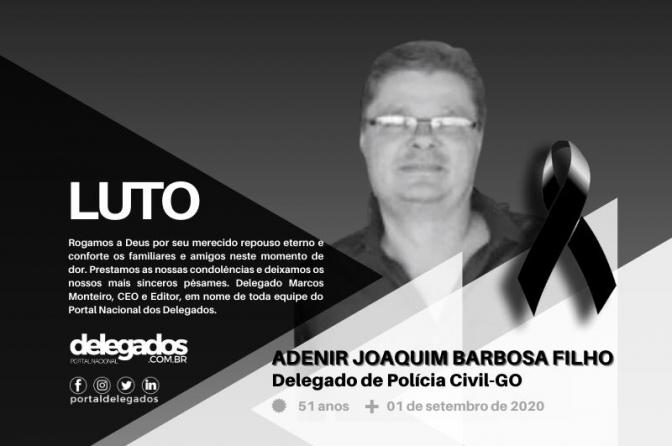 Delegado é a 1ª morte por Covid-19 na Polícia Civil de Goiás