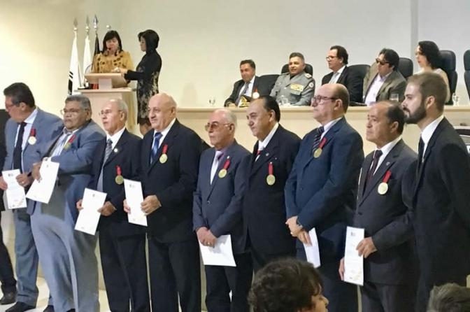 Polícia Civil da PB comemora 37 anos com entrega de comendas a autoridades