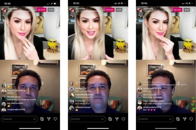 Assista a gravação da live Anamelka e Marcos Monteiro com o tema: Portal Delegados e Fake News