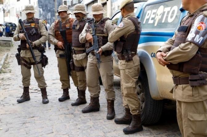 Covid mata mais profissionais da segurança pública que da saúde na Bahia