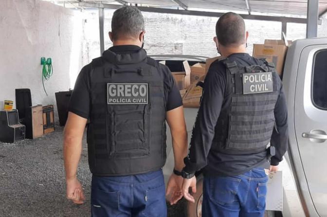 Grupo de Repressão ao Crime Organizado prende 3empresários por receptação em Teresina